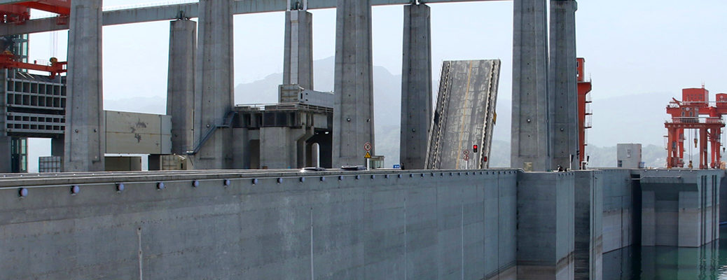 Three Gorges Dam pano