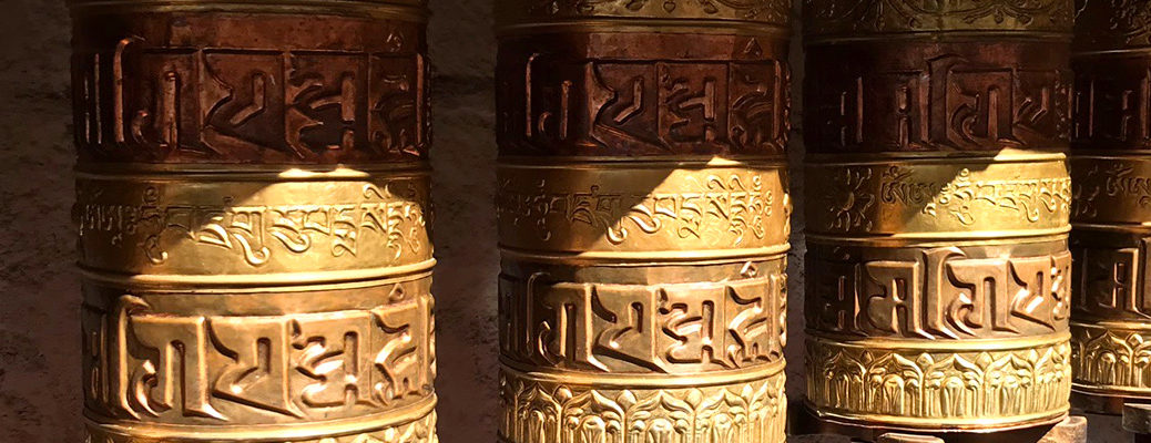 prayer wheels pano